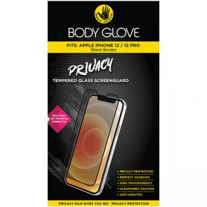 Body Glove iPhone 12|12 Pro Privacy Tempered Glass