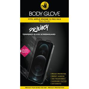 Body Glove iPhone 12 Pro Max Privacy Tempered Glass