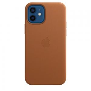 iPhone 12 | 12 Pro Leather Sleeve With Magsafe - Saddle Brown