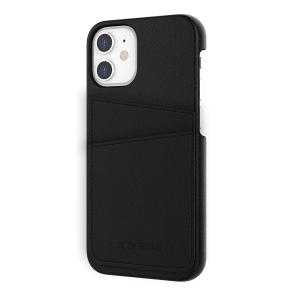 IPHONE 12 MINI LUXE CREDIT CARD CASE-BLACK BGLXE-IP1254-BK